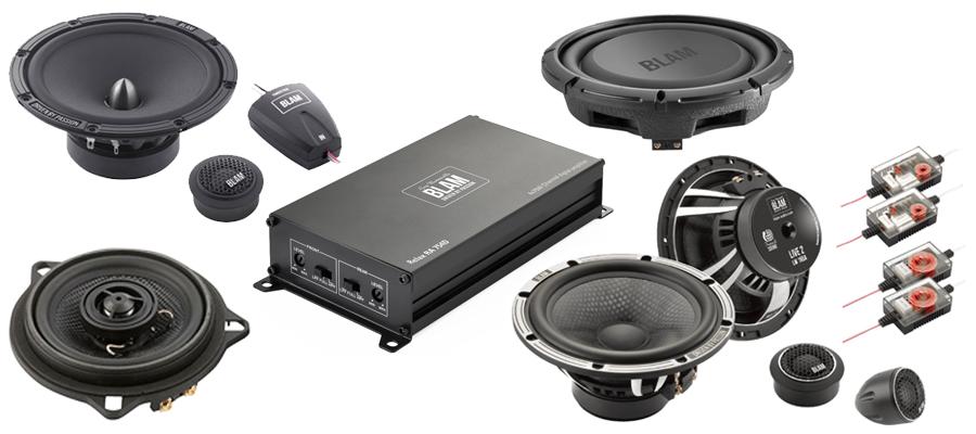 BLAM Audio - Speakers and Amplifiers