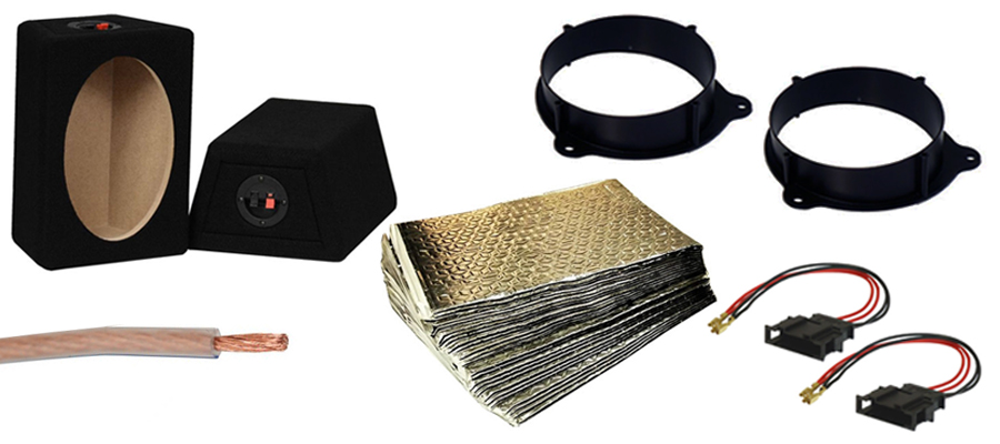Speaker Fitting Parts and Accessories