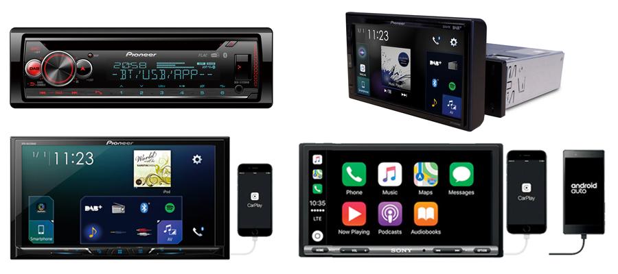 Car Radios & Head-unit Screens