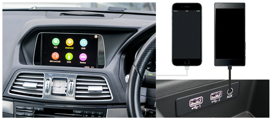 Smartphone Car Interfaces