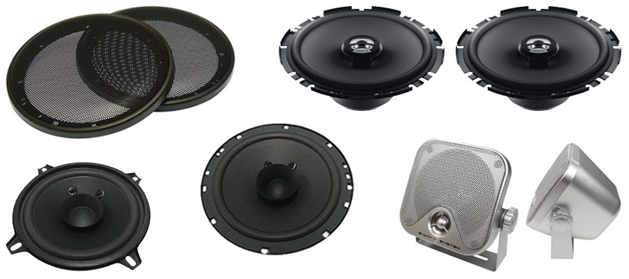 Speakers and Grills