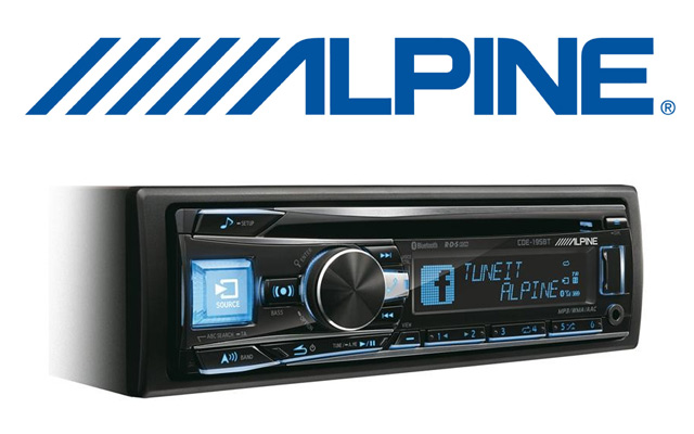 Any model Alpine single din radio