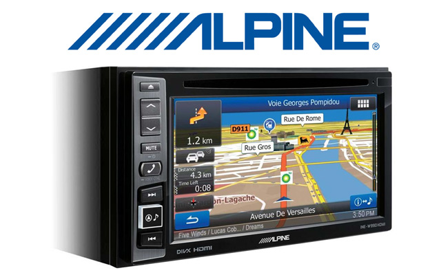 Any Alpine double din radio / screen