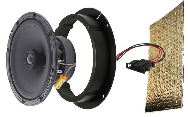 Speaker upgrade