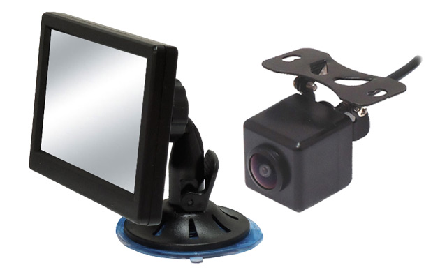 Universal fit cameras and monitors