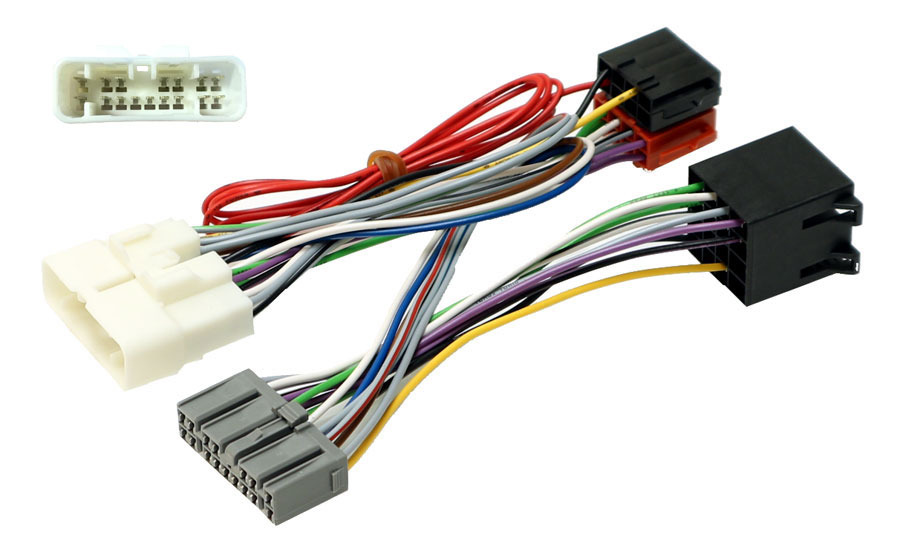 Toyota Landcruiser  With Nav  Iso Mute Sot Cable