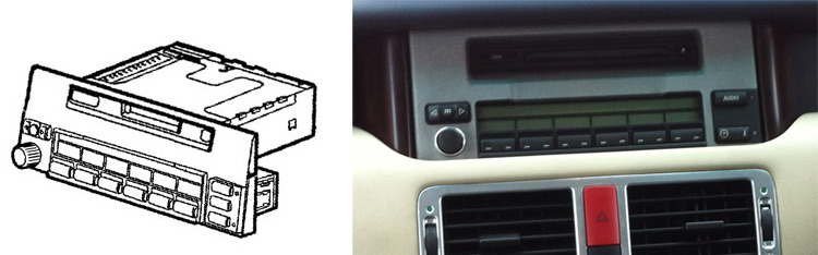 below is an image of the basic mid head unit