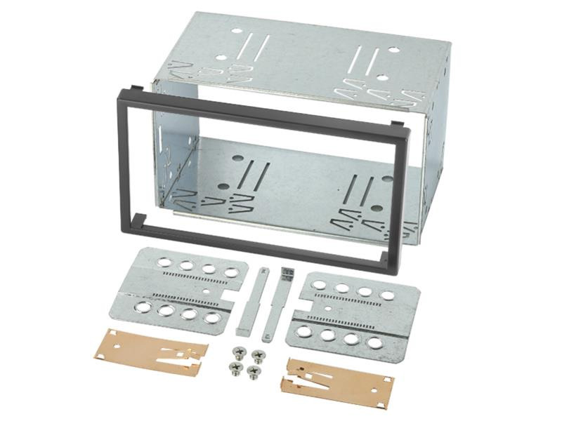 Double Din metal cage kit 103mm high