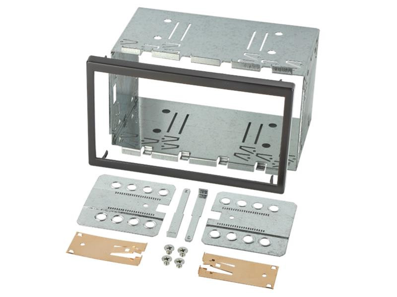 Double Din metal cage kit 113mm high