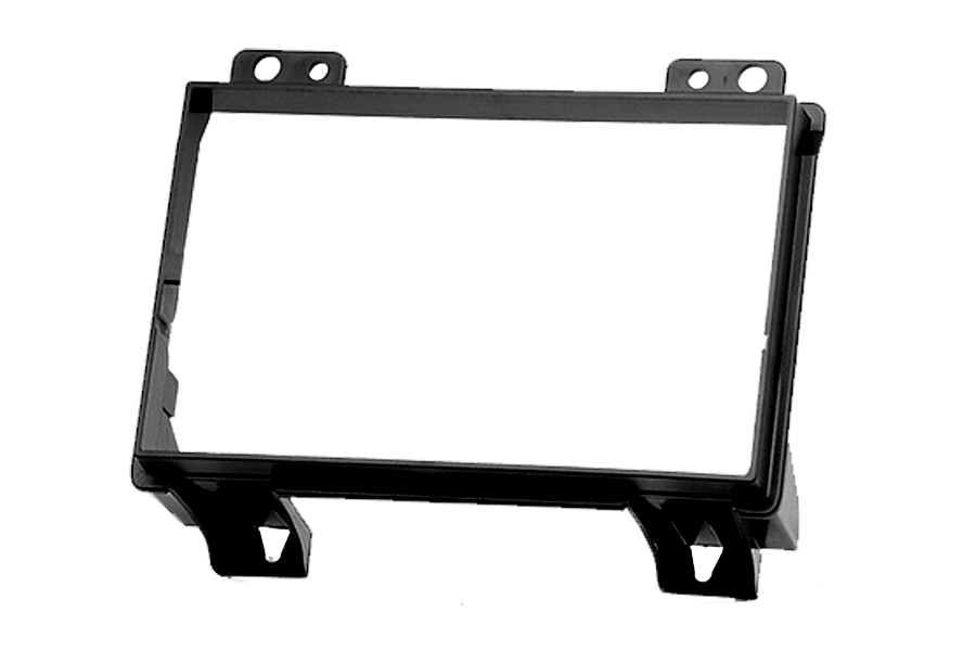 Ford Fiesta, Fusion double DIN fascia adapter panel (BLACK)