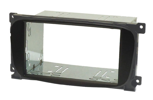 Ford 6000CD Double DIN cage kit (OVAL SHAPE - BLACK)