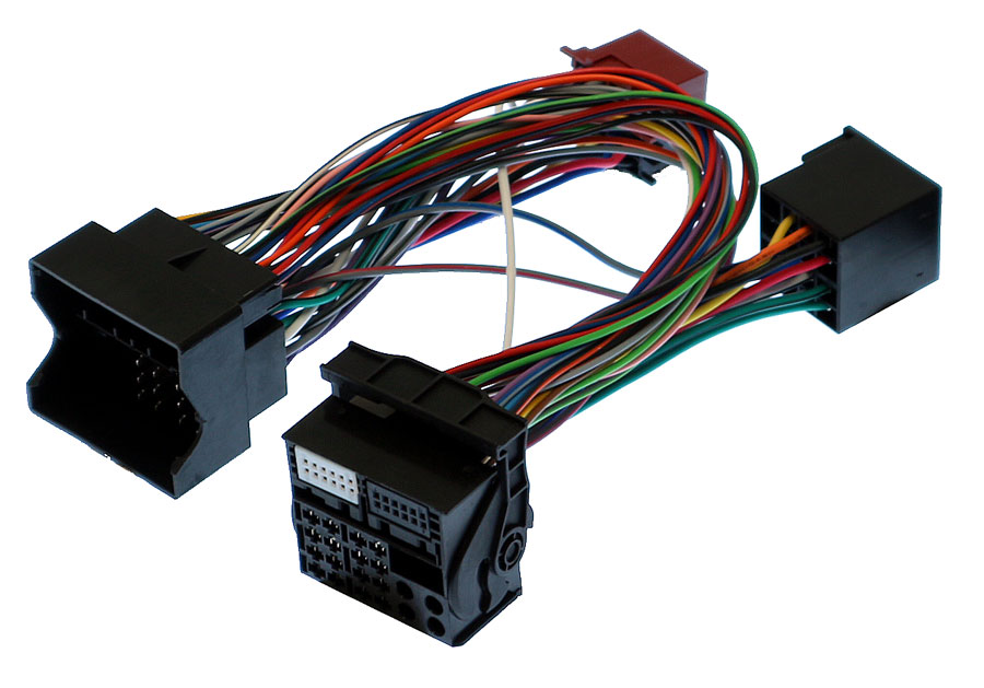 BMW Quadlock ISO cable with 24 wire extension
