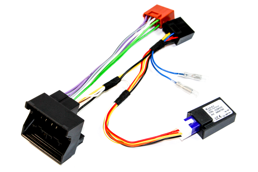 Citroen/Peugeot Quadlock CAN ign Radio ISO lead