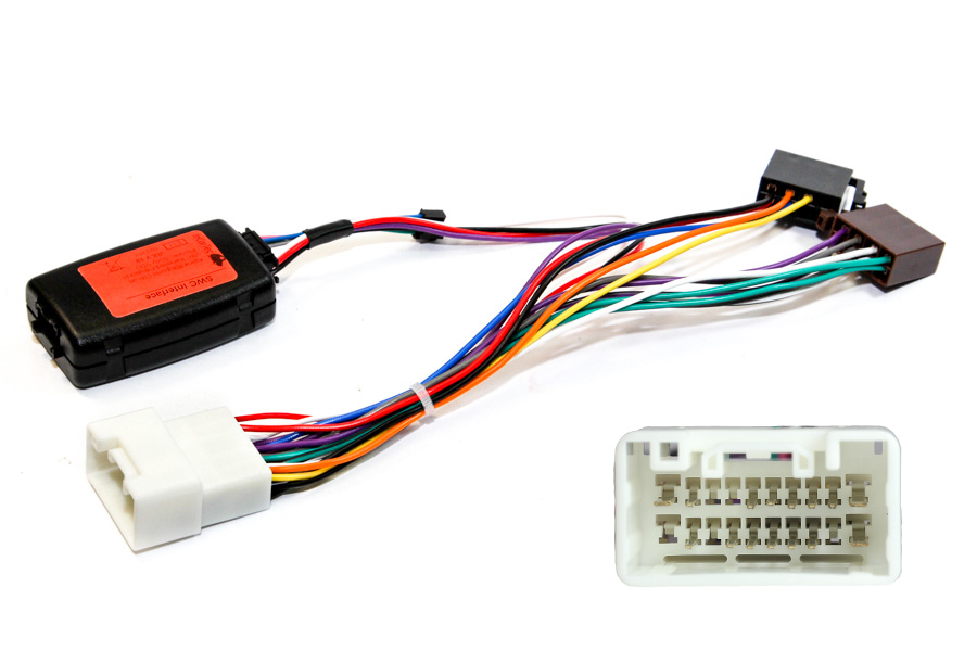 Citroen C Crosser Steering control interface