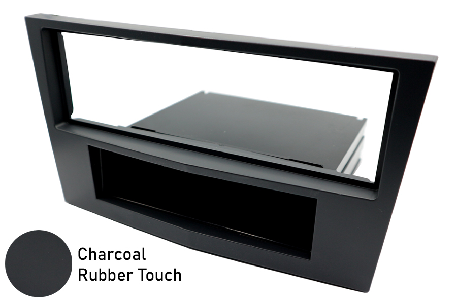 CHARCOAL Vauxhall/Opel Audio Facia Single Din