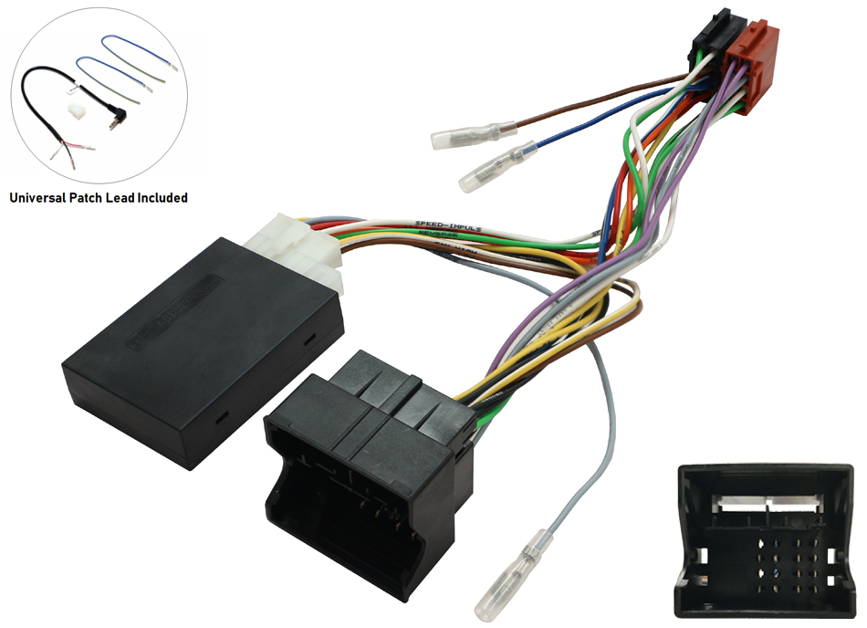 Mercedes C ,CLK, M, Vito  Audio 20 radio replacement  Steering control Interface