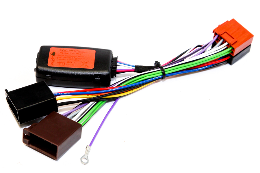 Vauxhall / Opel Steering control & iso cables