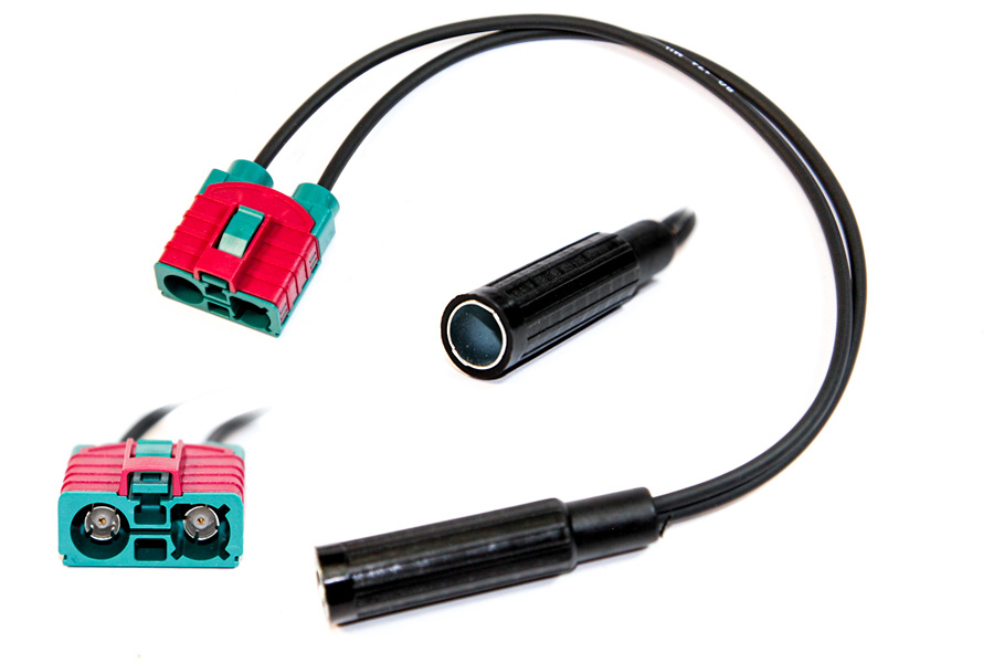 Volvo C30 V50 radio to female Din connector