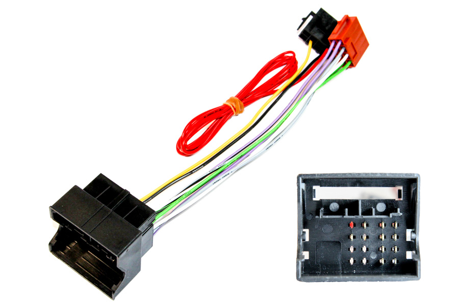 VW, Vauxhall Quadlock Radio ISO lead