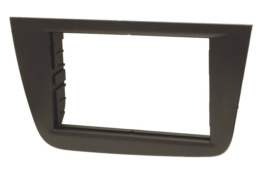 Seat Altea, Toledo double din radio fascia adapter panel matt black