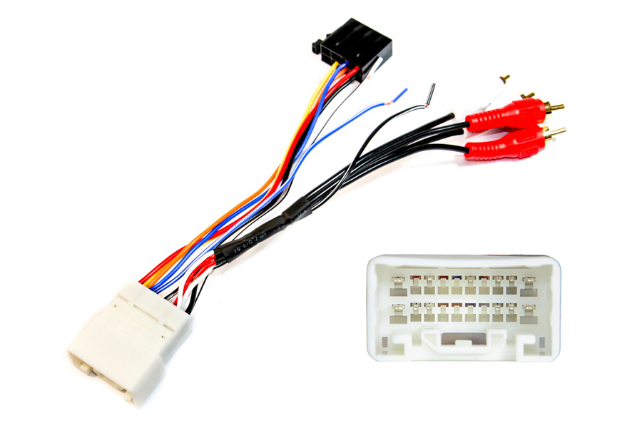 Iso radio lead for Lexus / Toyota (05>) with original Toyota amplifiers