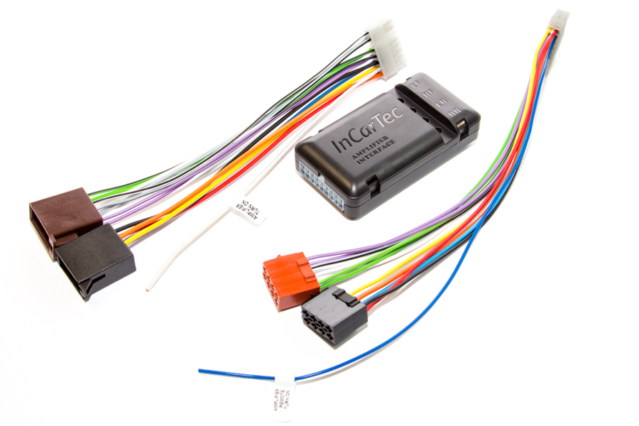 ISO to ISO amplifier integration interface (for cars original amplifier)