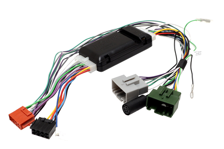 VOLVO HU6XX radio replacement cable with high quality amplifier integration interface