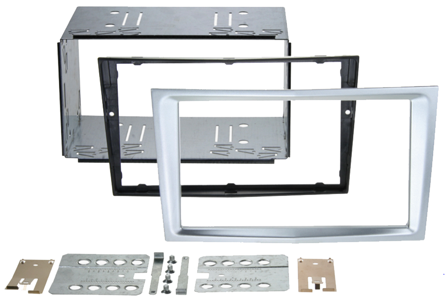Vauxhall  Pro Fit Double Din Cage kit SILVER