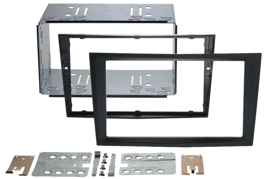 Vauxhall  Pro Fit Double Din Cage kit CHARCOAL