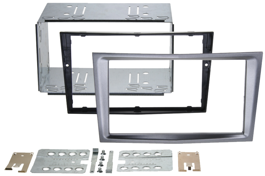 Vauxhall Pro Fit D.Din Cage kit CHARCOAL METALLIC