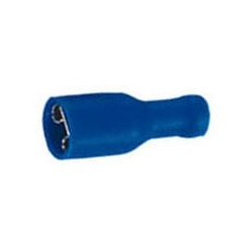 Blue Fully Insulated Spade push-on 6.3mm