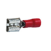 Red Spade 6.3mm female push-on