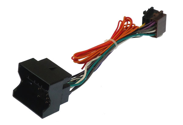 Mercedes Quadlock Radio ISO lead (harwire ignition needed)
