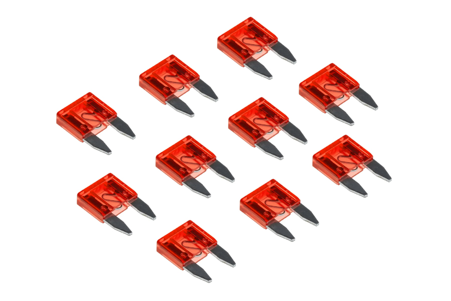 10 Amp mini blade fuses (10pcs pack)