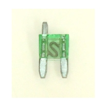 30 Amp mini blade fuse with spur