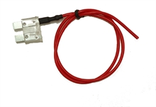 25 Amp standard ATO blade fuse with spur and cable