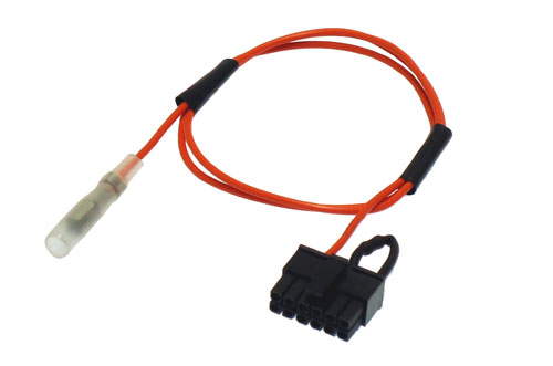 Kenwood patch lead for use with 49- series steering wheel control interfaces