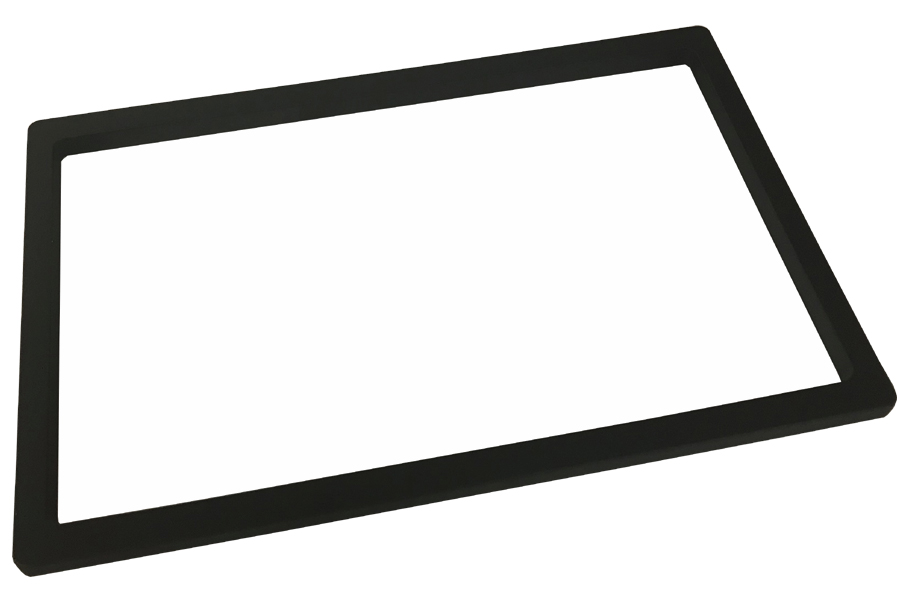 Universal double DIN monitor trim (118mm x 188mm)
