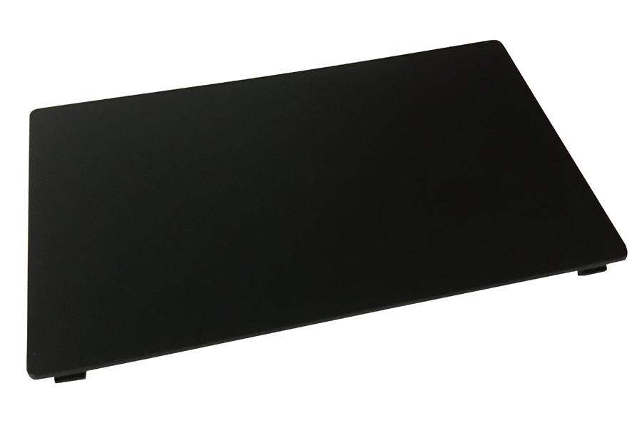 Universal black D.DIN blanking plate