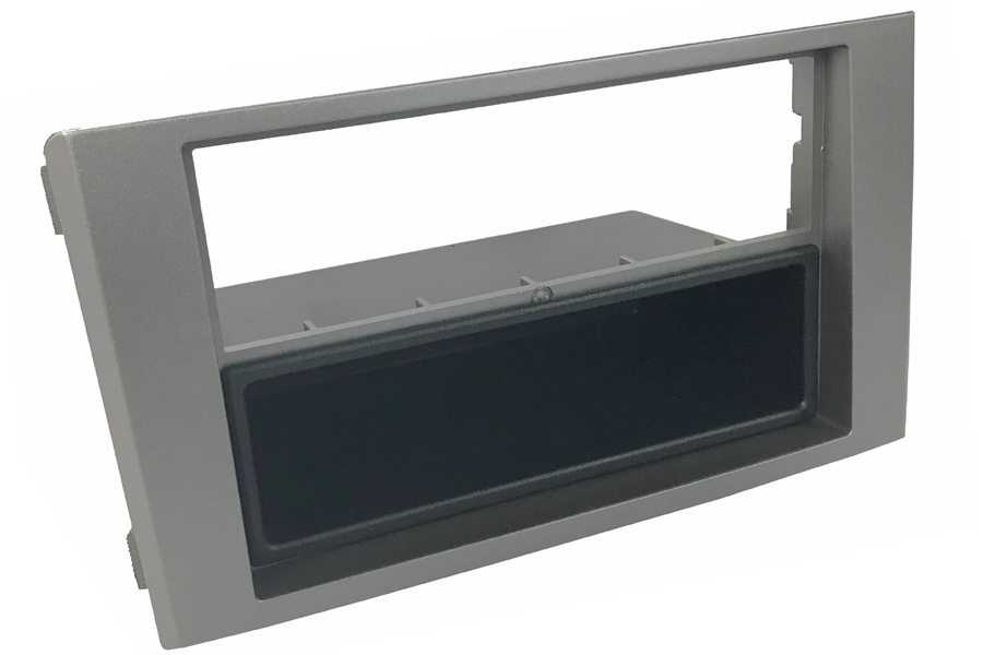 Iveco Daily (2007-2014) Single/Double DIN car audio facia with removable pocket (SILVER)