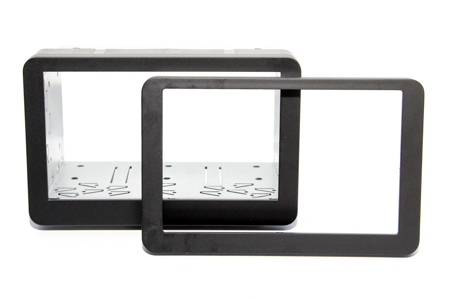 Alfa 159/Brera/Spider with NAV Double DIN fascia fitting cage kit