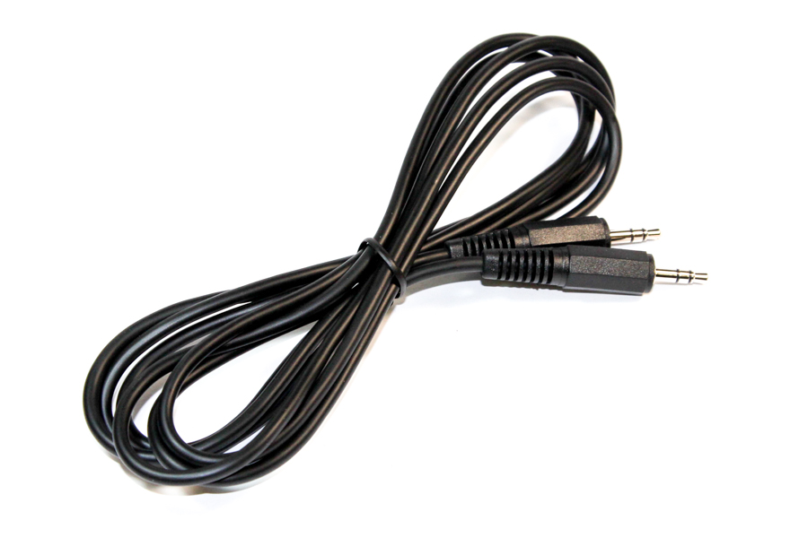 3.5mm jack to jack stereo cable for MP3 2m
