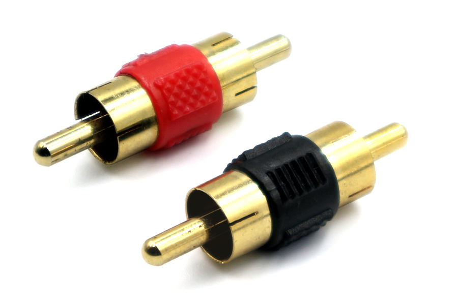 RCA Phono cable  Splice male to male (pair)