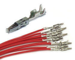 RED Micro Timer Receptacle wires  (10pcs)