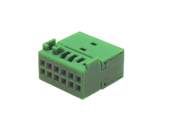 12 way Green VW Quadlock insert (10pcs)