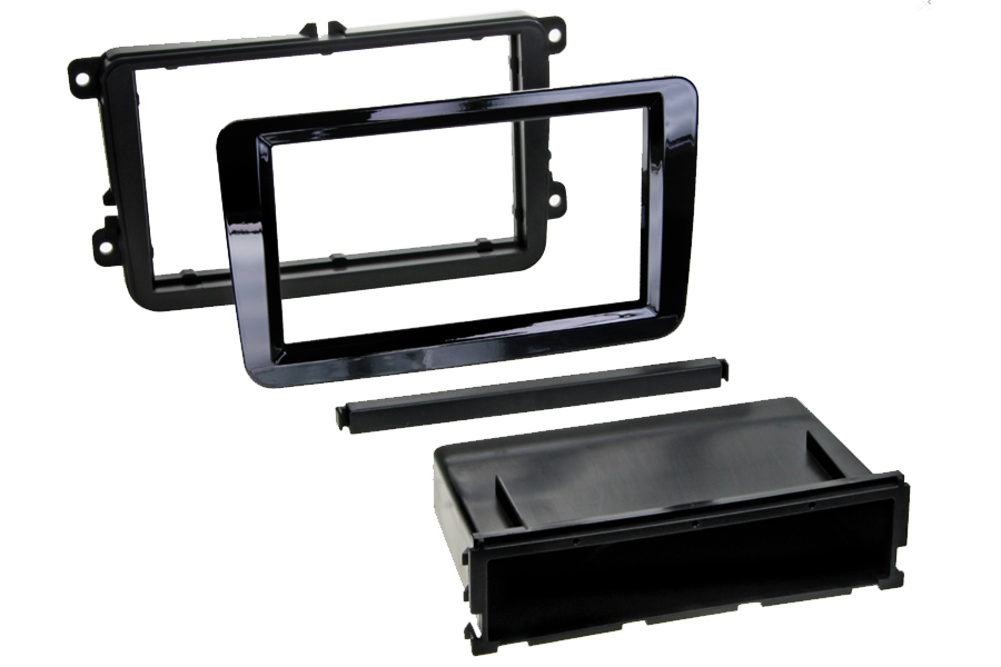 Volkswagen, PRO fit fascia kit gloss black