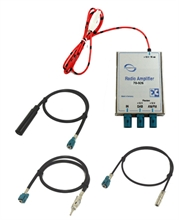 DAB & AM/FM splitter amplifier  for DIN radio