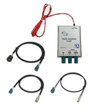 DAB & AM/FM splitter amplifier for ISO radio