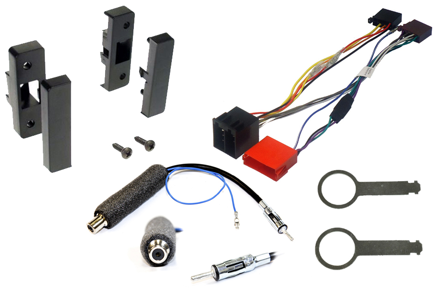 Audi A3 (96-00) complete head unit fitting kit