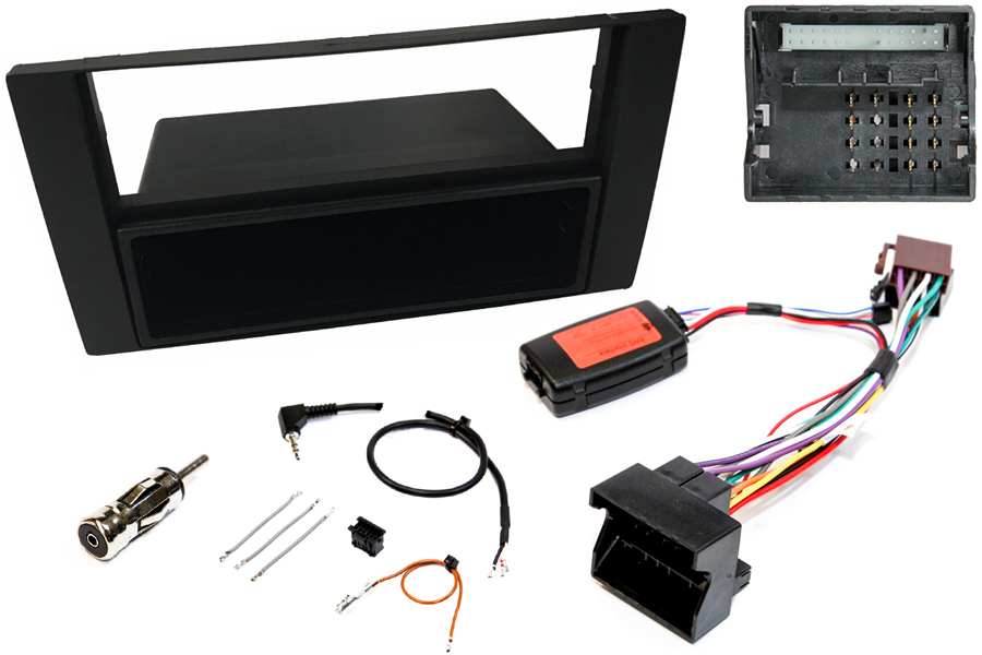 Ford single and double din SWC fitting kit